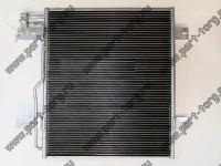 Радиатор кондиционера Ford F-650, F750   (2004-2008)   № 3548907F93, 4C4Z19712B, 4C4Z19712EA, CN40829PFC