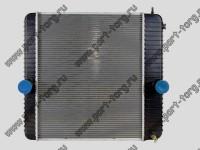 Радиатор охлаждения двигателя Ford F650, Ford F750, International (2004-2007)   № 2585036C91, 2586048C92, 4C4Z8005YA
