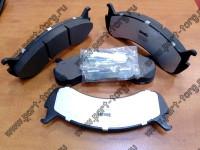 Колодки тормозные задние дисковые INTER 4300 / 4200 / Ford F750 / F650   № PGD786AM / 2501842C92 / 2596037C1