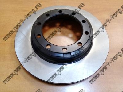 Диск тормозной передний ( 10 отверстий, под ABS) INTER 4200 / 4300 / FL M-2   № D6176M / Raybestos 8537 / 2007173C1 / BD125484