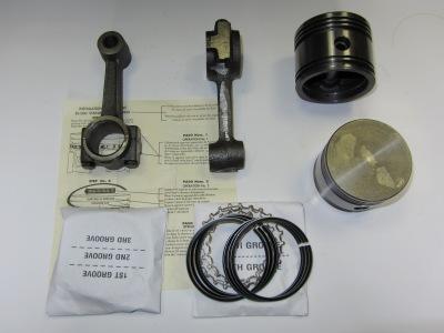 Ремкомплект компрессора Tu-Flo 550 (поршня, шатуны, кольца)